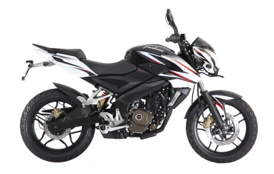 Pulsar 200NS cambia de colores… en India