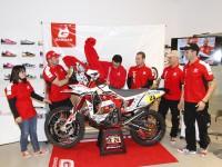 GAS GAS presenta su moto para el Dakar