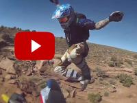 ¡Gran salto en moto de Brad O'Neal!