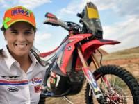 Laia Sanz irá con el Honda HRC al Dakar 2015