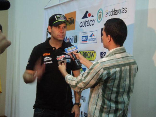 Mateo Moreno vuelve a la carga para el Dakar 2015