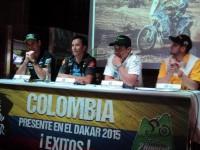 Colombianos en el Dakar 2015
