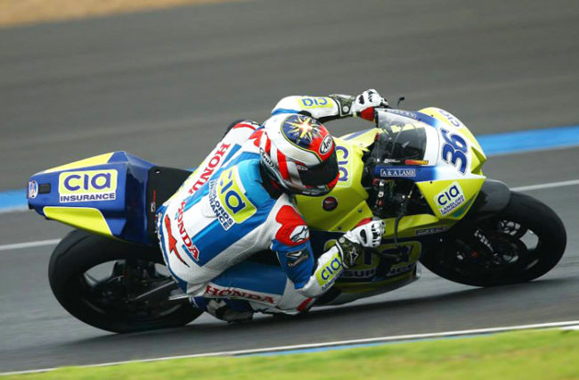 Martín Cárdenas se destaca en el mundial de Supersport (SSP)
