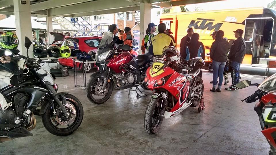 Variedad de motos