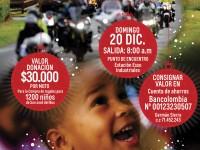 Las motos de Medellin aportan felicidad a los niños de San Jose del Nus